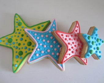 Stars cookie decorating set (cookies are not included)