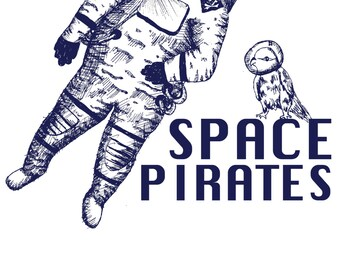 Space Pirates second edition poster