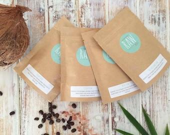 Rawsome Foursome Minis Organic Coffee Scrub