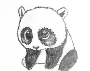 Giant Panda Doodle
