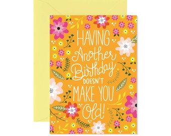 Having Another Birthday Card