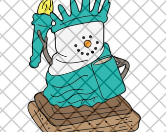 S'More Statue of Liberty SVG