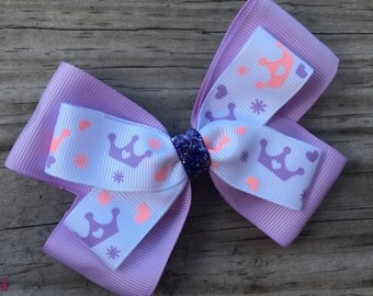 Princess Crown Bow