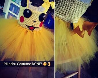 Pikachu Tutu costume