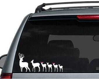 Deer Family Decal