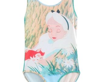Disney - Alice In Wonderland - Bodysuit - Woman's Small - N.W.T