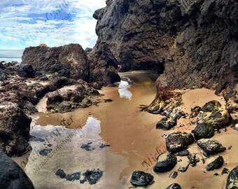 Natural Hawaiian Tide Pool // Digital Image