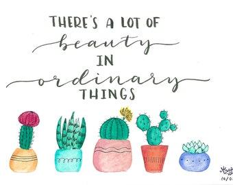 The Office Pam Beesly Cacti Quote