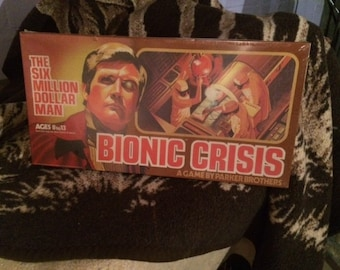 "Six Million Dollar Man ""Bionic Crisis"" board game"
