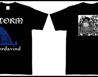 T-shirt STORM - Nordavind  [s-m-l-xl-xxl] Isengard Bathory Otyg Månegarm Lumsk Heidevolk Glittertind Vintersorg Moonsorrow Thyrfing
