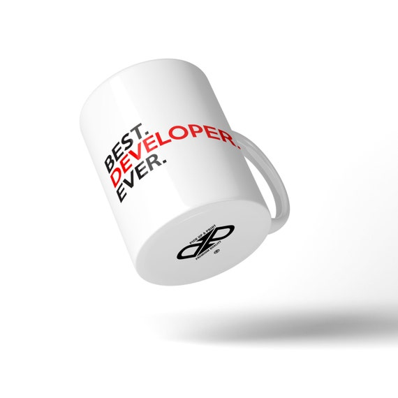 Best Developer Ever Mug - Great Gift Idea Stocking Filler