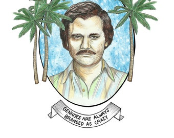 Unique Pablo Escobar Related Items Etsy