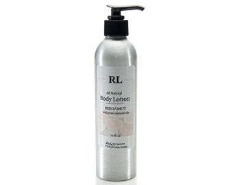 All-Natural Bergamot Body Lotion