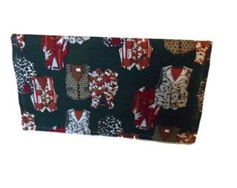 Checkbook Cover, Fabric Checkbook Cover,Cloth Checkbook Cover