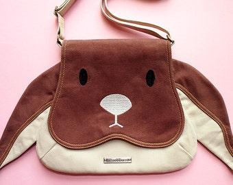 Sling Purse - Chubby Bunny Sling Purse (Brown Bunny)