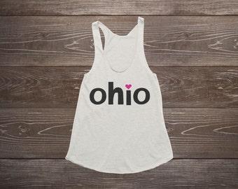 Women's Tank Top - Ohio