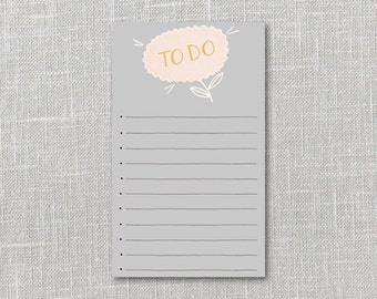 Flower To-Do List PDF