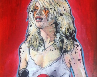 Debbie Harry Thundercats Cheetara limited Giclee Print - Rip Her to Shreds