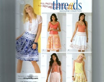 Simplicity Misses' Skirts Pattern 4233