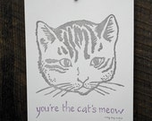 You're the Cat's Meow Broadside