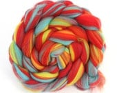 Macaw -  Merino Combed Wool Top 100g