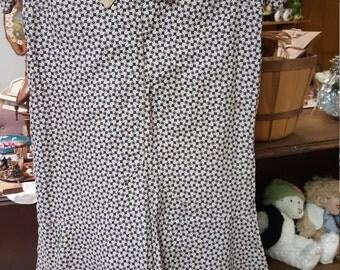 antique hand stitched dress vintage fabric