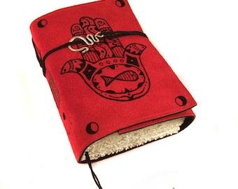 Hamsa Journal, Leather, Handmade, Diary, Notebook