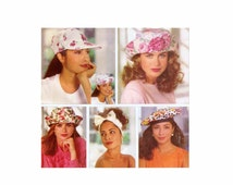 Summer Hats Butterick 5948 Vintage Sewing Pattern UNCUT