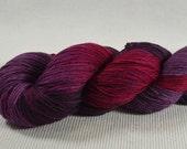 NEW MCN Yarn Hollow Chime II Sock Merino Cashmere Nylon 80/10/10 Red Hot Nights Multi Color