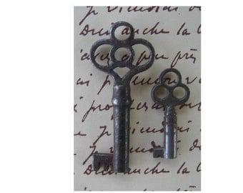 Two Vintage Unusual Keys