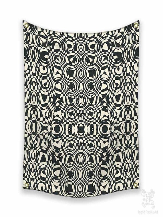 Boho Tapestries, Tapestry Wall Hanging, black and white tapestries, Tapestry, Tapestries, Wall art tapestry, Wall Tapestry hanging, funky