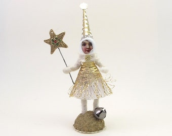 Vintage Inspired Spun Cotton Sorceress Girl Limited Edition Figure