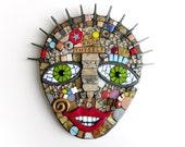 Know Thyself. (Handmade Mixed Media Mosaic Wall Art Piece by Shawn DuBois)