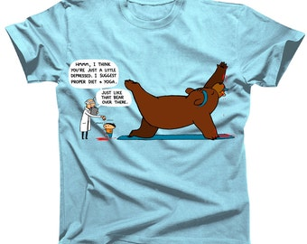 Yoga Bear Tshirt