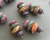 Forest Floral Bead Stack