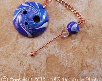 Purple & Blue Swirl Spinner's DIZ and Threader Set - No C1 - CONCAVE