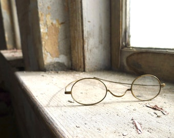 Antique Late Victorian Spectacles