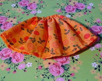 Blythe / DAL Skirt - Field Of Flowers