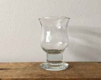 Glass shot glass - small vase