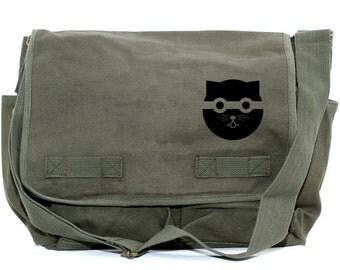 Messenger Bag   Bandit CAT   Kawaii   Gift for Women   Camera Bag   Crossbody   Travel   Large   Gift for Girl Sister Daughter   Cat Gift