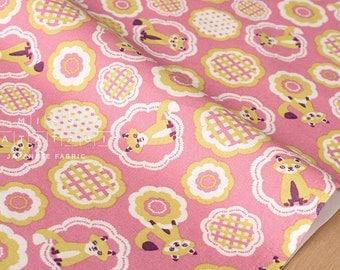 Japanese Fabric Yuwa Cotorienne K & T - pink - 50cm