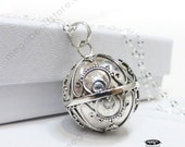 20mm Harmony Ball Large Bali Sterling Silver Pendant Chain Necklace P86