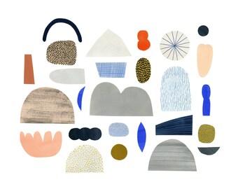 Paper Landscape print 12x16