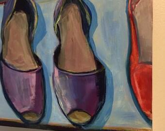 Summer Sandals, D'Orasay's