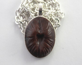 Small Fleshy Organic Part Pendant BH-1