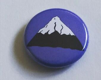Mt Hood Portland, Oregon 1 inch Button Pin