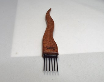 weaving beater- toothpick-Lacewood-coarse