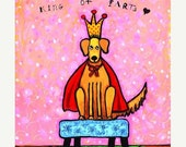 ON SALE King of Farts -  Print