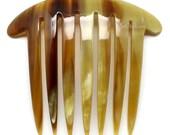 Horn Hair Comb - Q11043