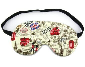 London Streets Sleep Eye Mask, Sleeping Mask, Travel Mask